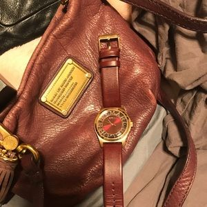 Marc Jacobs watch and bag bundle